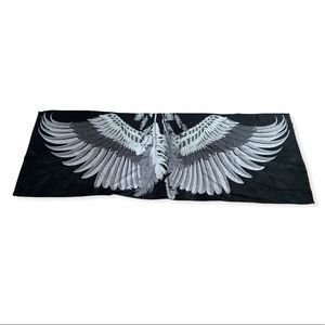 Angel Wings and Feather Wrap Scarf